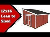 This step by step diy project is about diy 12x16 lean to shed plans If you are 12x16