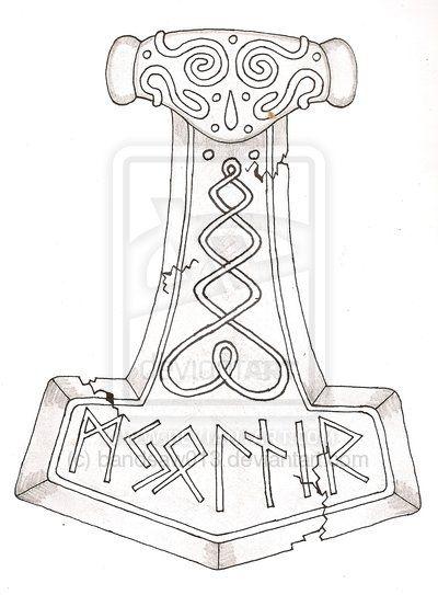 Pin By Johnathon Cutshaw On Illumination Ideas In 2020 Thor Hammer Tattoo Norse Tattoo Mjolnir Tattoo