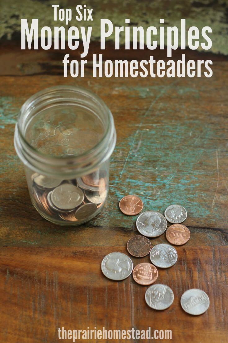 Top 6 Money Principles for Homesteaders | Best of The ...