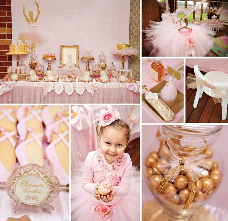 Pink And Gold Birthday Party Supplies