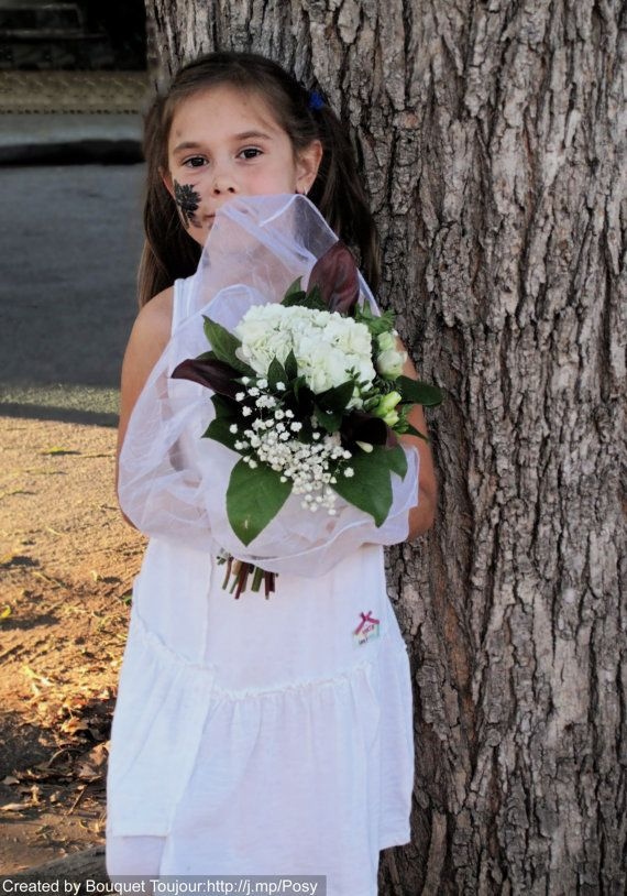 The Freesia Is The Symbol Of Sweetness Friendship And Trust The Symbolism Of These Flower Add To The Celebra Flower Girl Dresses Flowers Bridal Bouquet