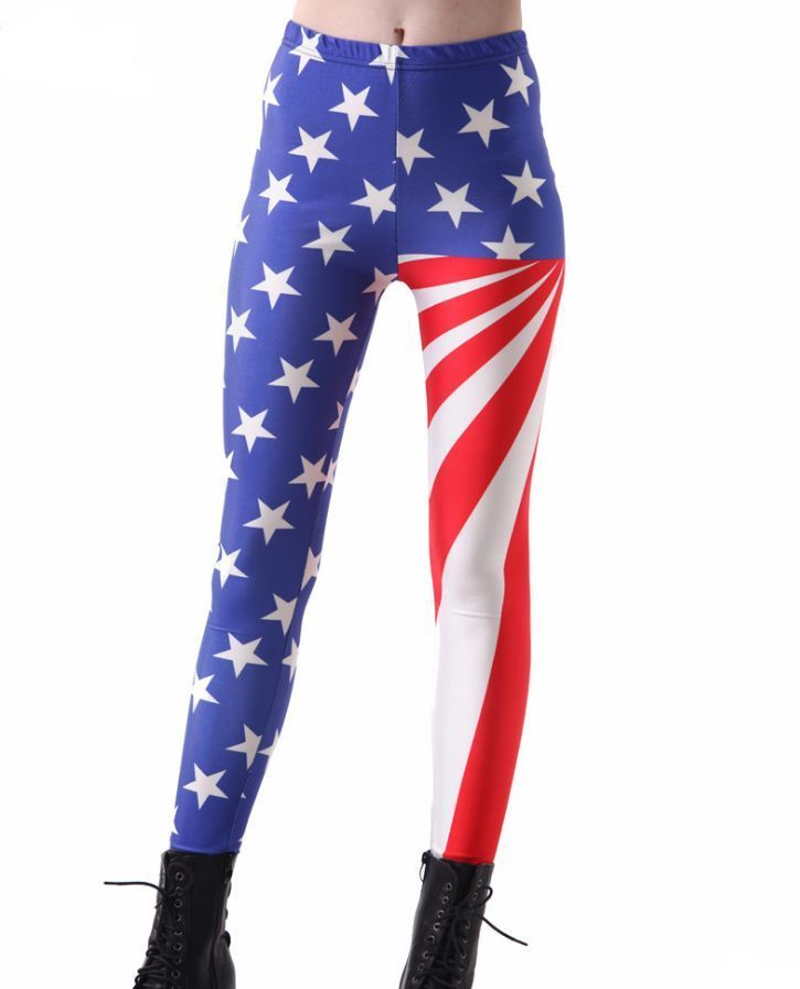 65b79a3f076c American Flag Stars and Stripes Election Star Banner Patriotic Leggings