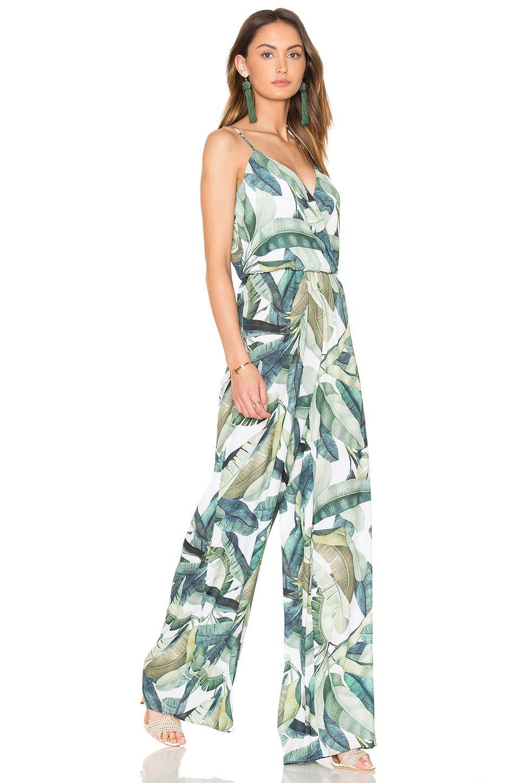 637b026bd3 Show Me Your Mumu Jagger Jumpsuit in Banana Leaf