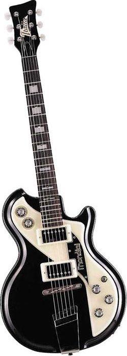 Italia Mondial Classic Semi-Hollow Electric Guitar Black (via Musician's Friend)