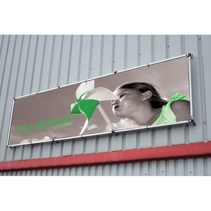 Einseitiger Wandbanner mit Digitaldruck