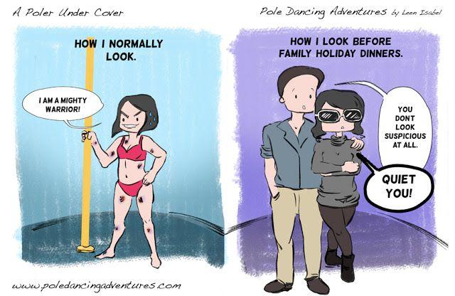 *Pole Dancing Adventures (PDA) - The Original Pole Dance Webcomic Series