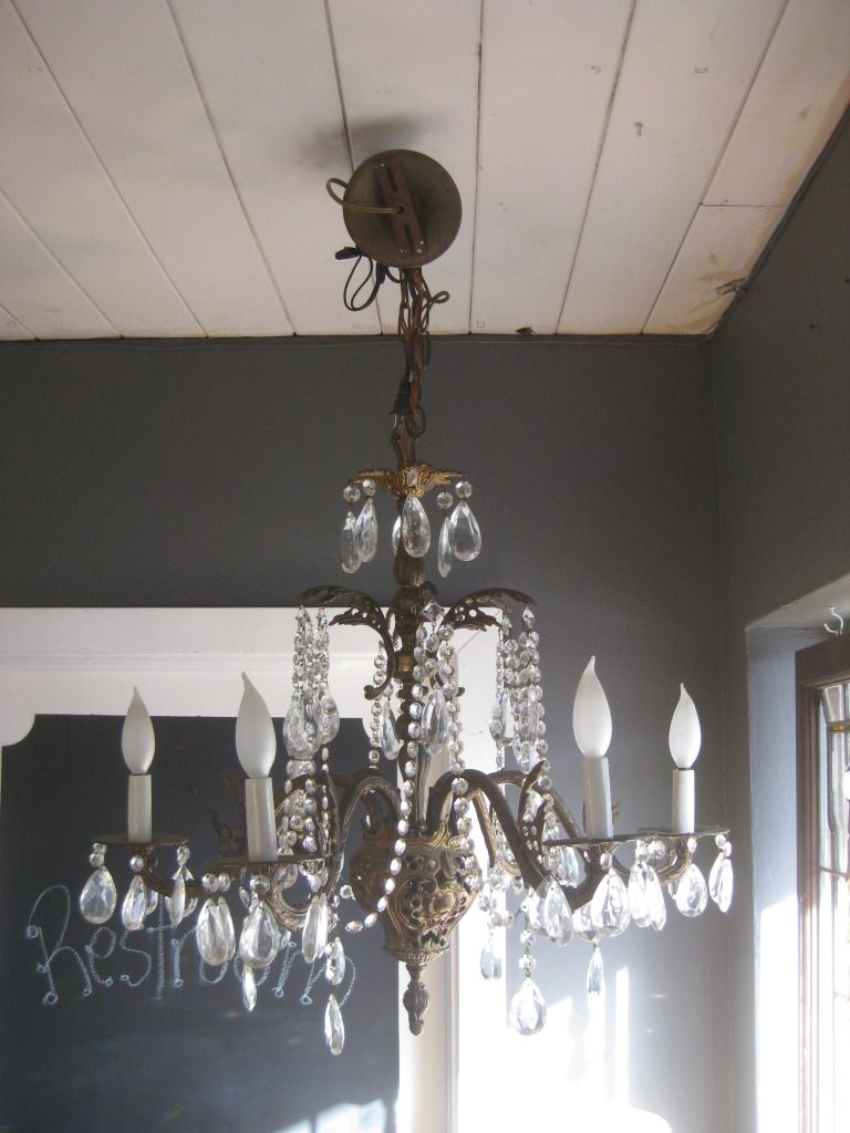 Antique chandelier just like my abuelita had in her house