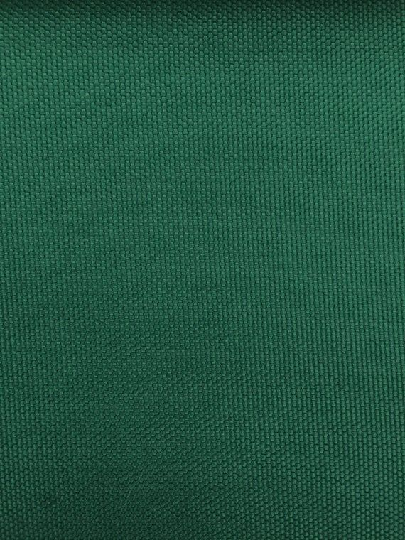 Waterproof Canvas Solid Hunter Green Indoor Outdoor Fabric 60 Wide Sold By The Yard In 2020 Outdoor Fabric Outdoor Drapery Fabric
