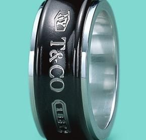 395df45cfc21d Tiffany Co Men's ring Sterling silver and Titanium! only £175 on www ...