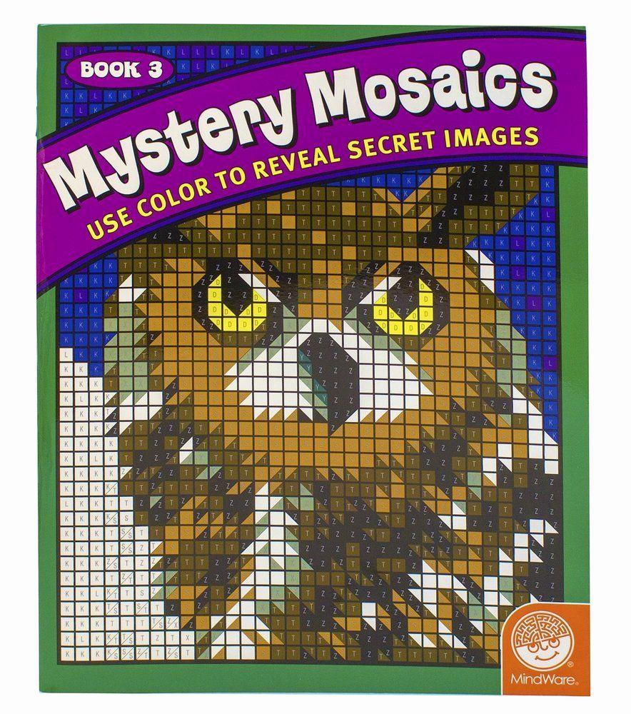 Mystery Mosaics Coloring Book Elegant Mystery Mosaics