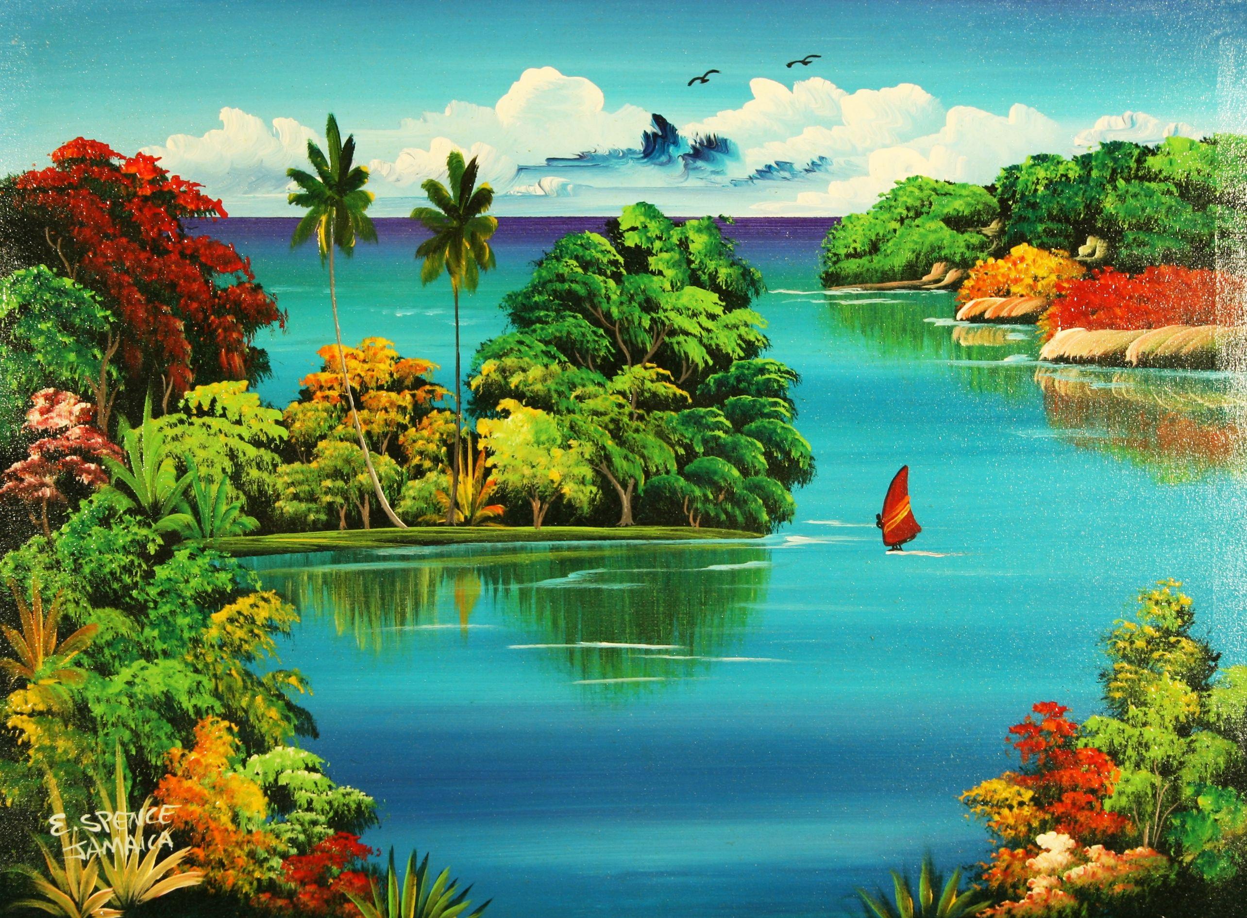 Jamaican Art Paintings Threesix