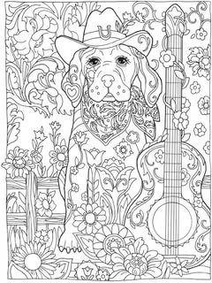 раскраска антистресс собака: 14 тыс изображений найдено в ...