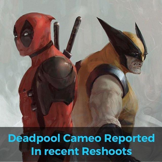 follow puresquid so the reshoots of deadpool 2 include a secret cameo