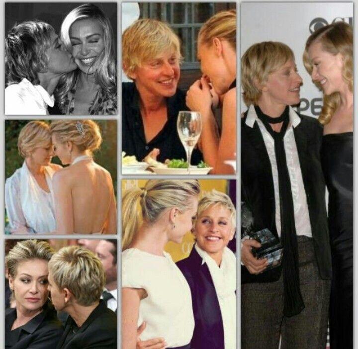 Portia De Rossi Wedding Gown: Ellen And Portia Image By Karen Knapp On Ellen And Portia