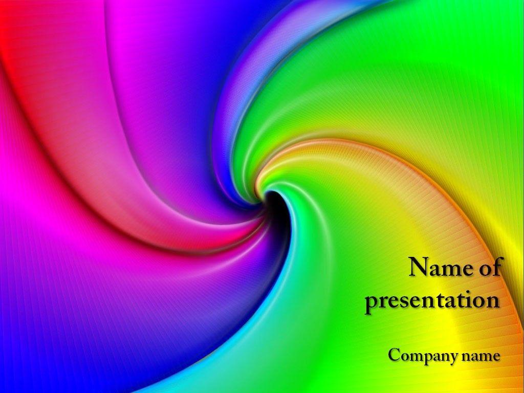 Rainbow PowerPoint Template   Lebanon   Pinterest   Presentation ...