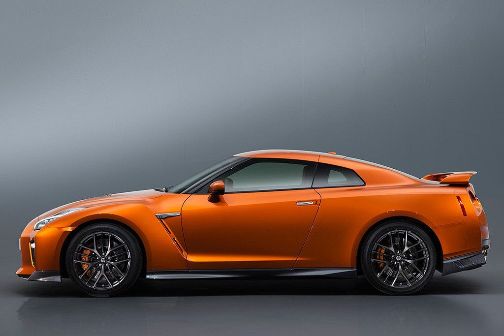 Nissan Gt R Gtr New 2017 Side View Car Poster