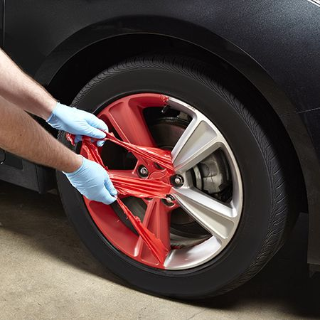 Clean Rust Off Metal >> Use FlexiDip to coat anything from wheel rims to tool handles, auto body detailing, vases ...