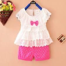 06bdd7ae0 Resultado de imagen para ropa para niña de 2 años de verano ...
