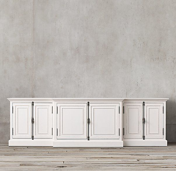 French Panel Media Console French furniture, Panel doors
