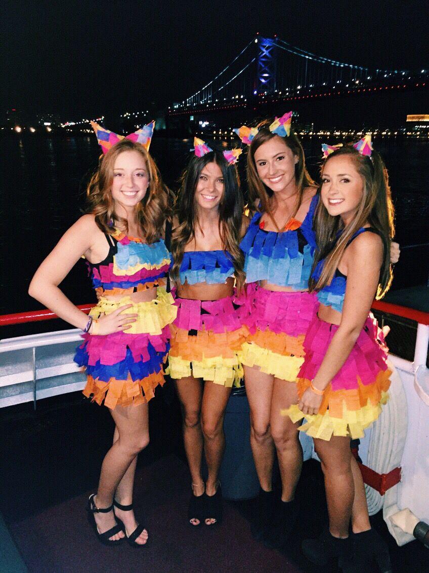 diy piñata costume for halloween | halloween in 2018 | halloween