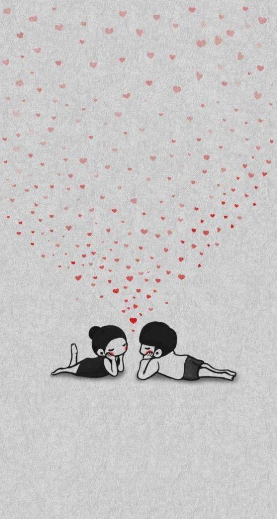Papéis de parede romântico para celular - Papel de parede