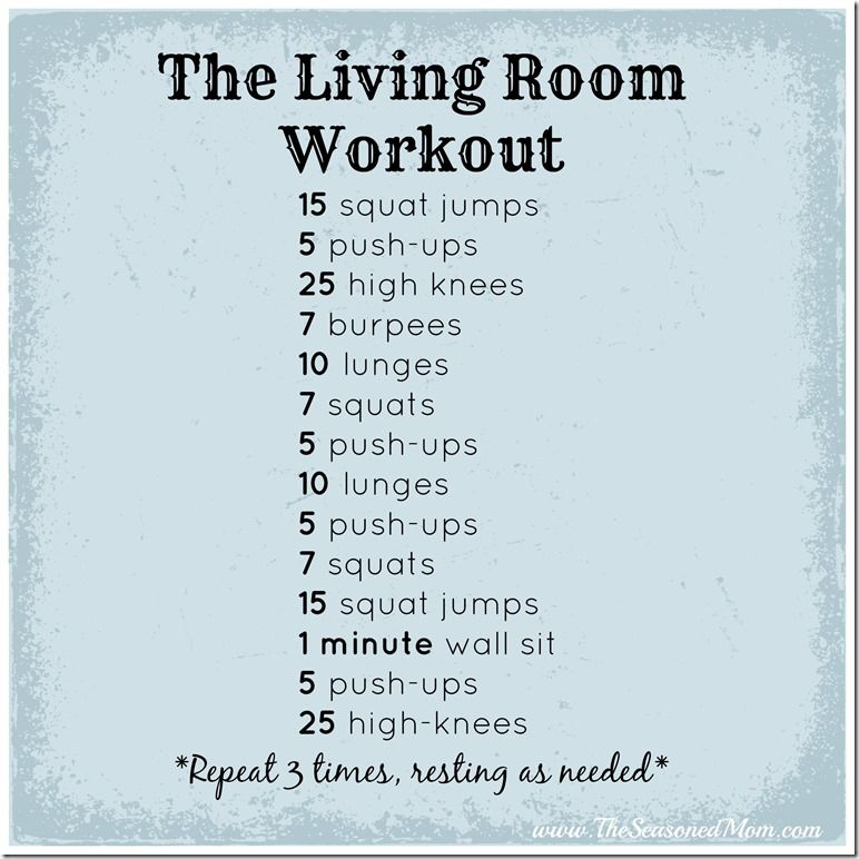 Guest Post: The Living Room Workout for Busy Moms | Living room ...