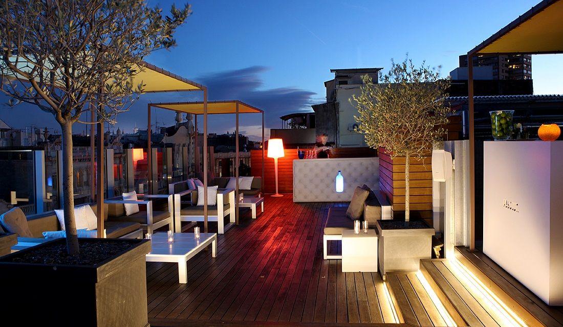Axel Hotel Barcelona Terrazas Hoteles Y Arquitectura