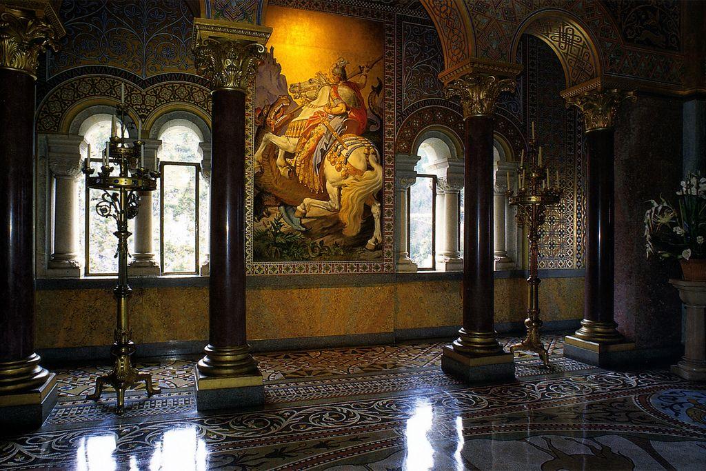 Neuschwanstein Interior Neuschwanstein Castle Castles Interior Germany Castles