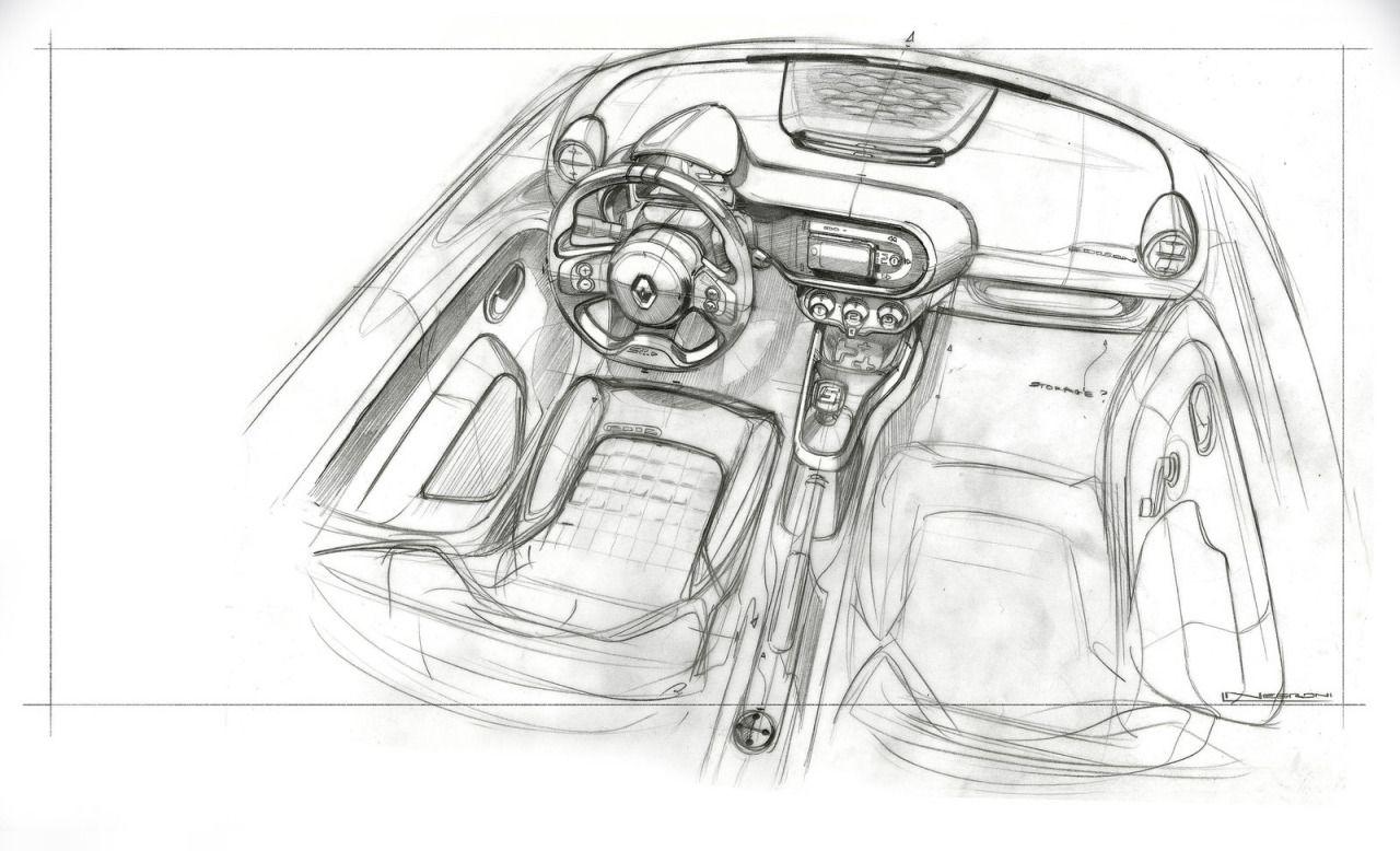 Renault Twingo Sketch