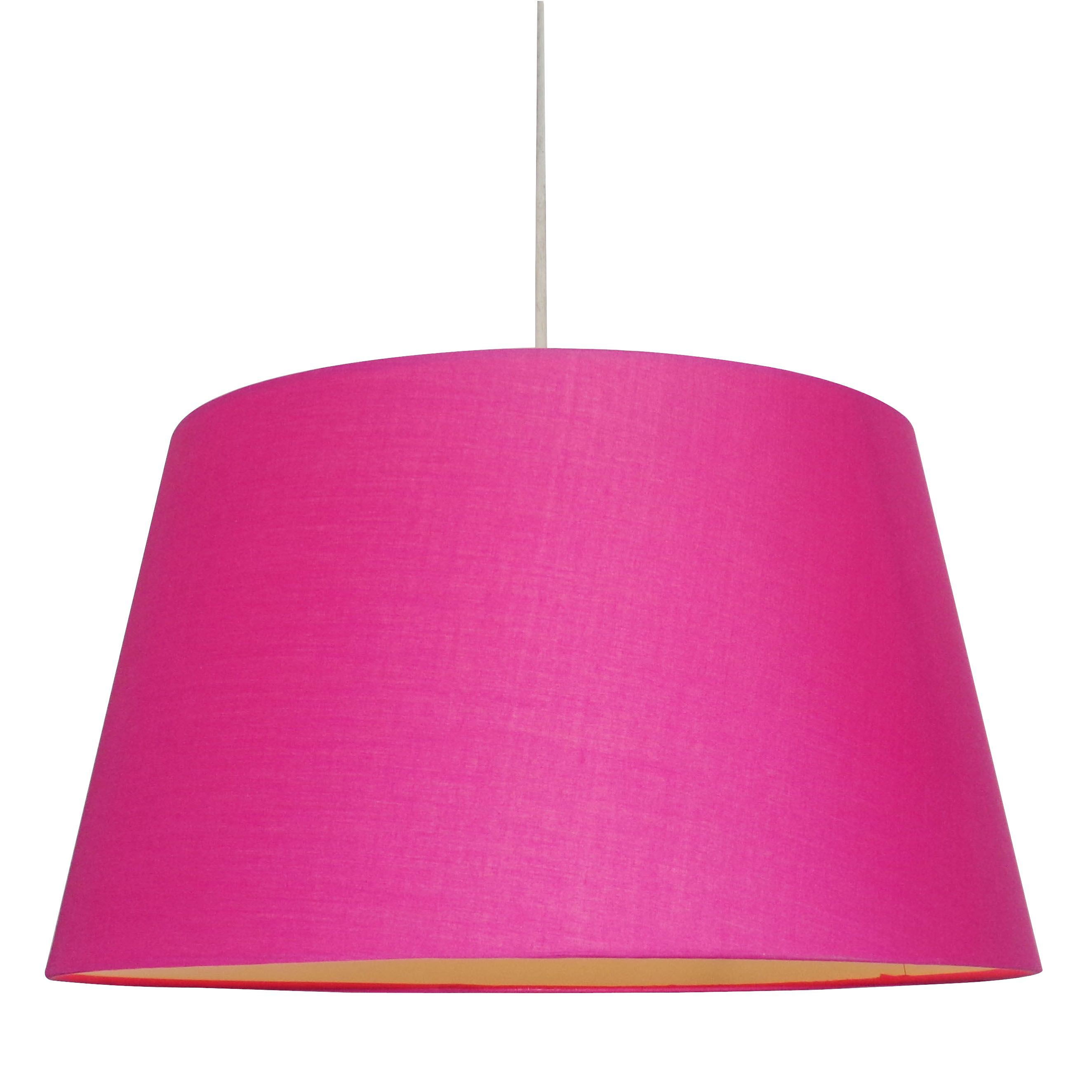 Colours Martie Bright Pink Light Shade D 45cm Departments Diy At B Q