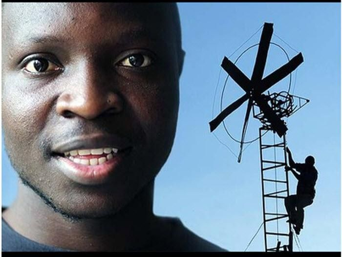 August 5, 1987: William Kamkwamba is born. At fifteen he builds a windmill to power his Mali village.