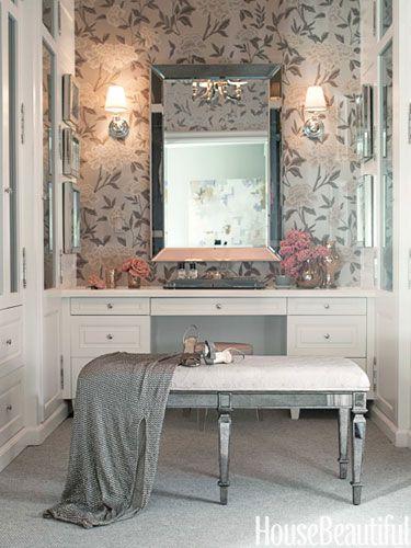 A California House With Soft Shades Dressing Room Design Home Dressing Room Closet