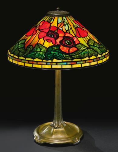 Tiffany Studios Poppy Table L Lighting Sotheby S