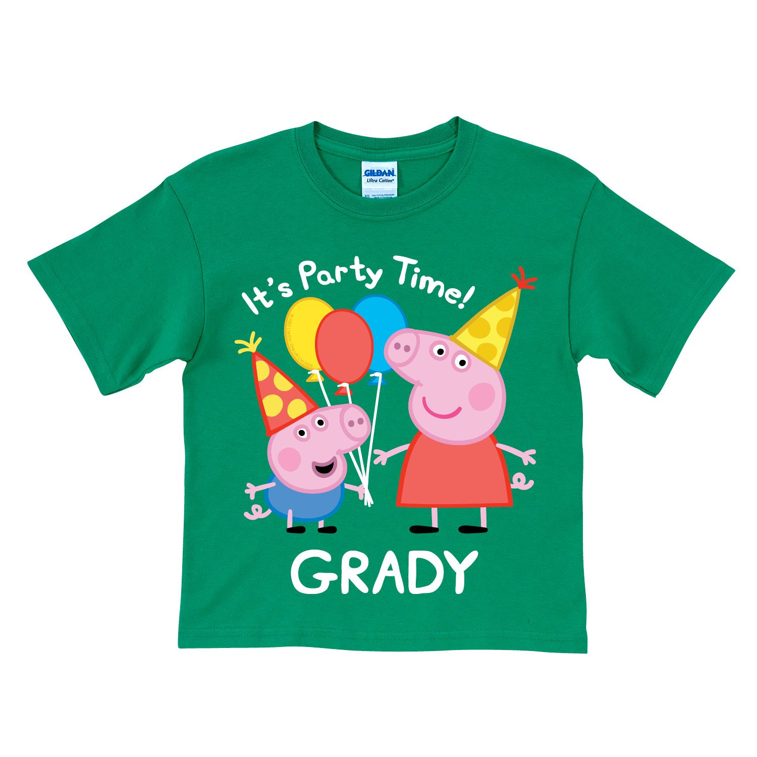 Design your own t-shirt birthday party - Peppa Pig Peppa And George Birthday Green T Shirt T Shirts Clothing