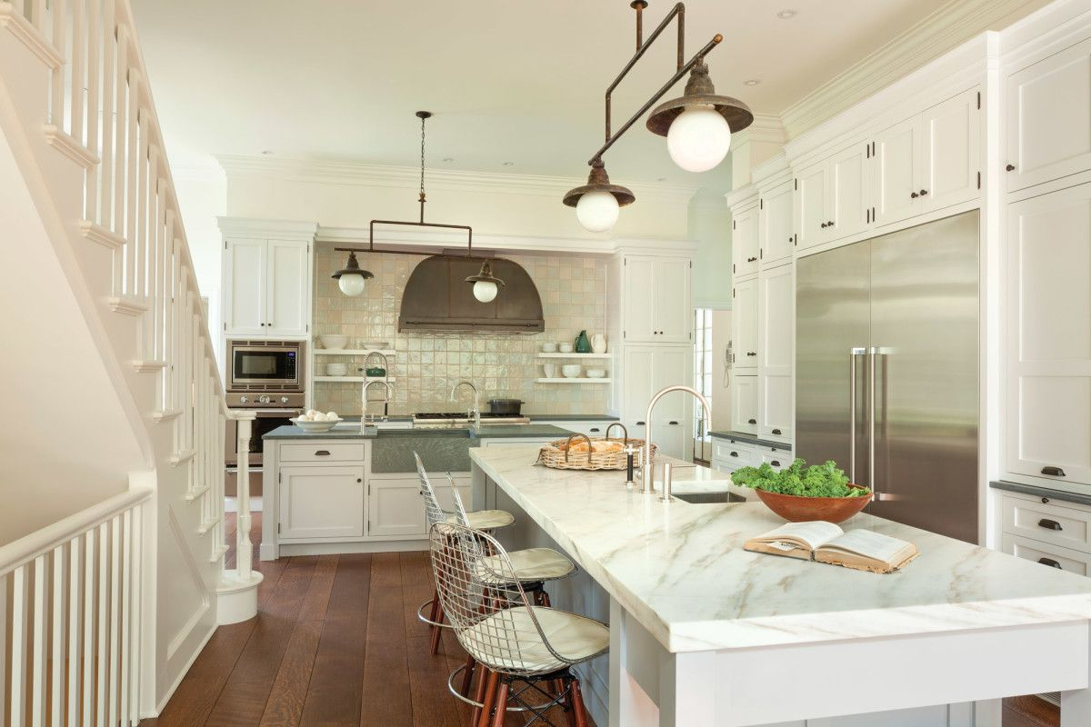A Kitchen Bath Renovation Of A 1920s Mckim Mead White House House And Home Magazine Kitchen And Bath 1920s House