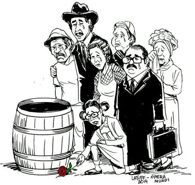 As Imagens Da Despedida A Roberto Bolanos Nosso Eterno Chaves