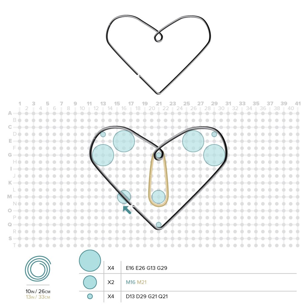 Fantastic Wire Jig Patterns Heart Gift - Electrical Diagram Ideas ...