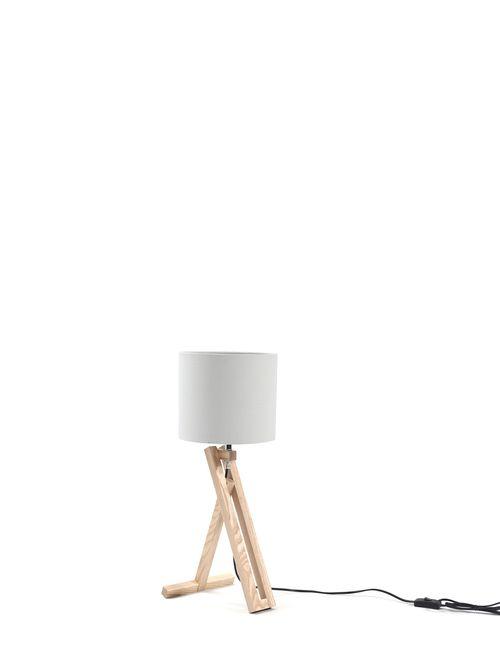 Die Opsitkers Table Lamp Wood L 200 X W 200 X H 500mm Table