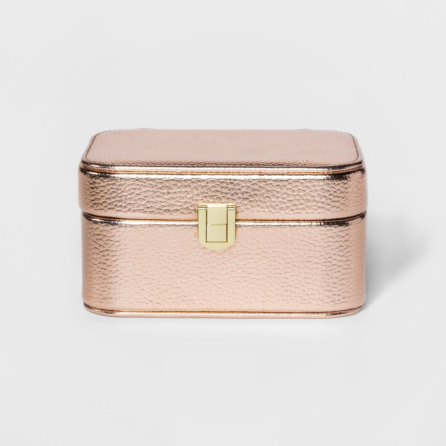 Rose Gold Jewelry Case Gift Guide Bridesmaids Pinterest Rose