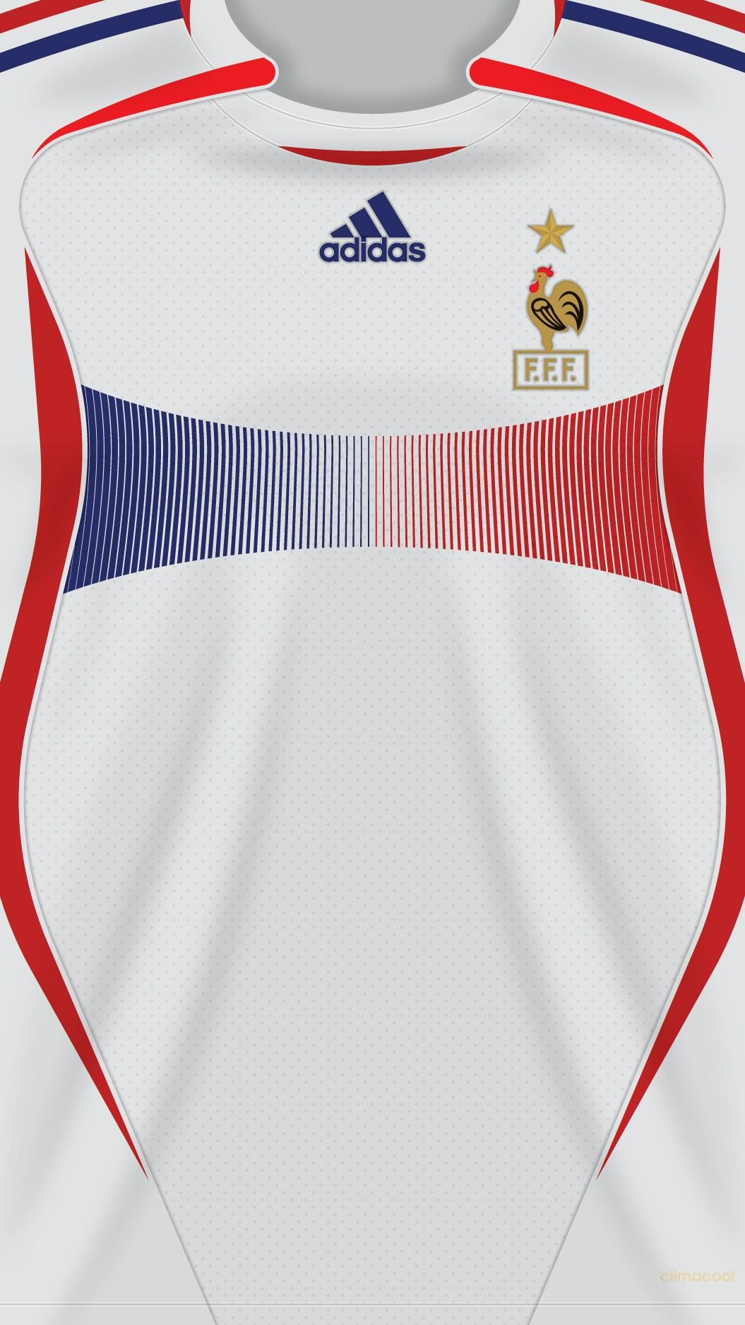 France ( world cup ) 06-07 kit away  14bd6832750be