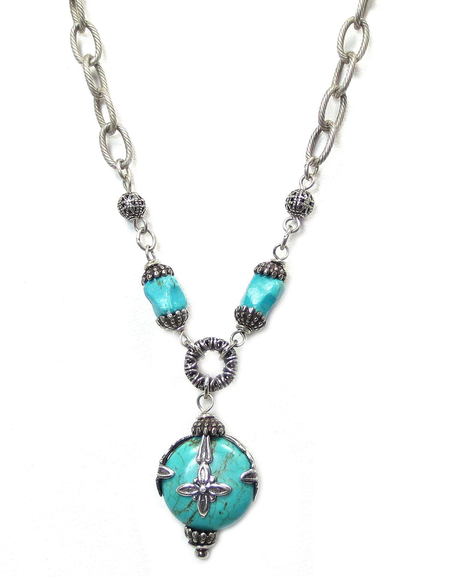 Jan Michaels Turquoise Necklace NK3525TQAS
