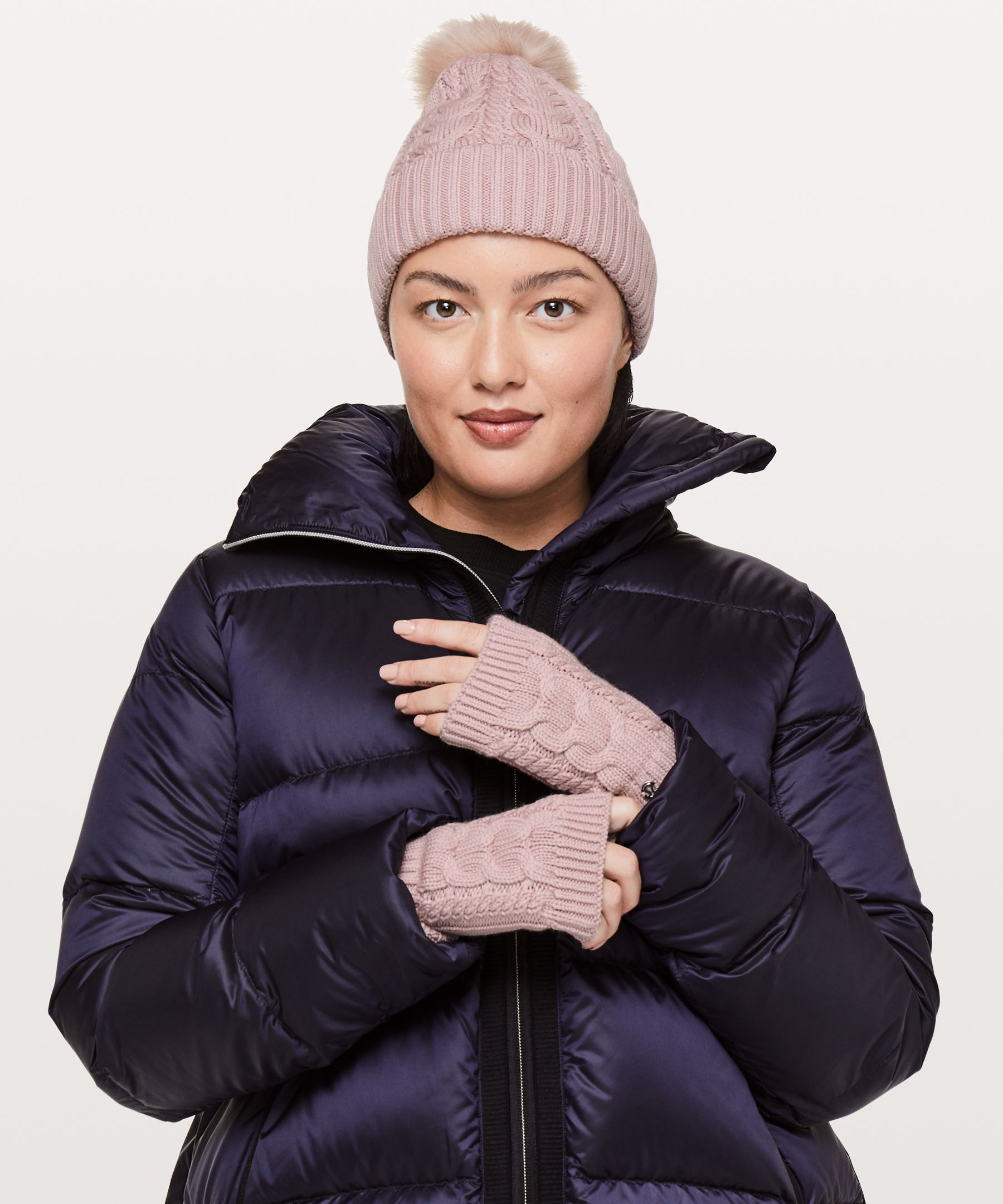 d2e9ac91562fa Twisted Bliss Fingerless Gloves - Keep your hands warm—and your fingers  free to text—in these cable-knit fingerless gloves.