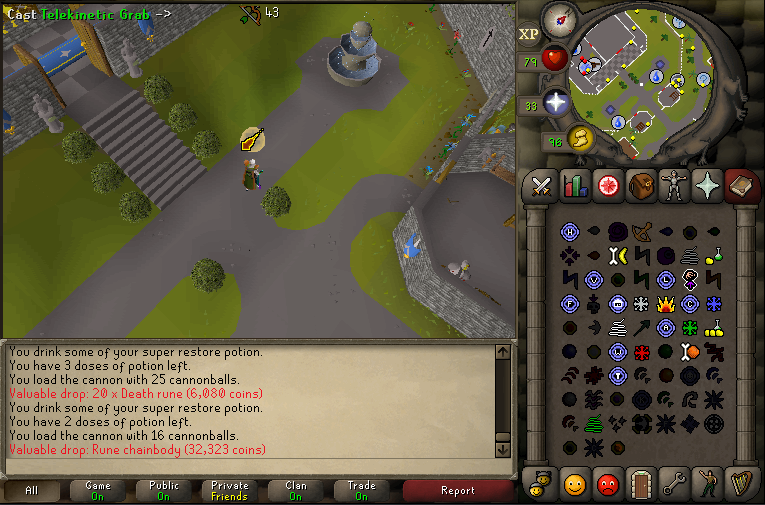 r.i.p. rune chainbody you could have been high alch'd to a better place