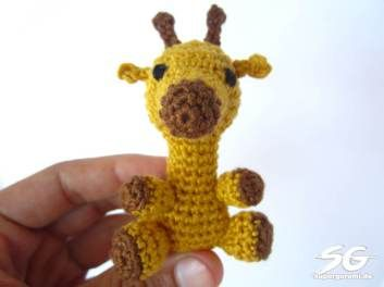 Amigurumi Giraffe Crochet Pattern