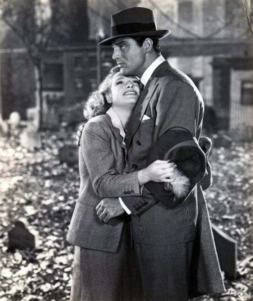 Cary Grant & Priscilla Lane, 1944, Arsenic and Old Lace.