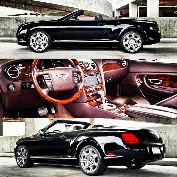Gorgeous Custom Bentley: Bentley Continental Convertible... I Have