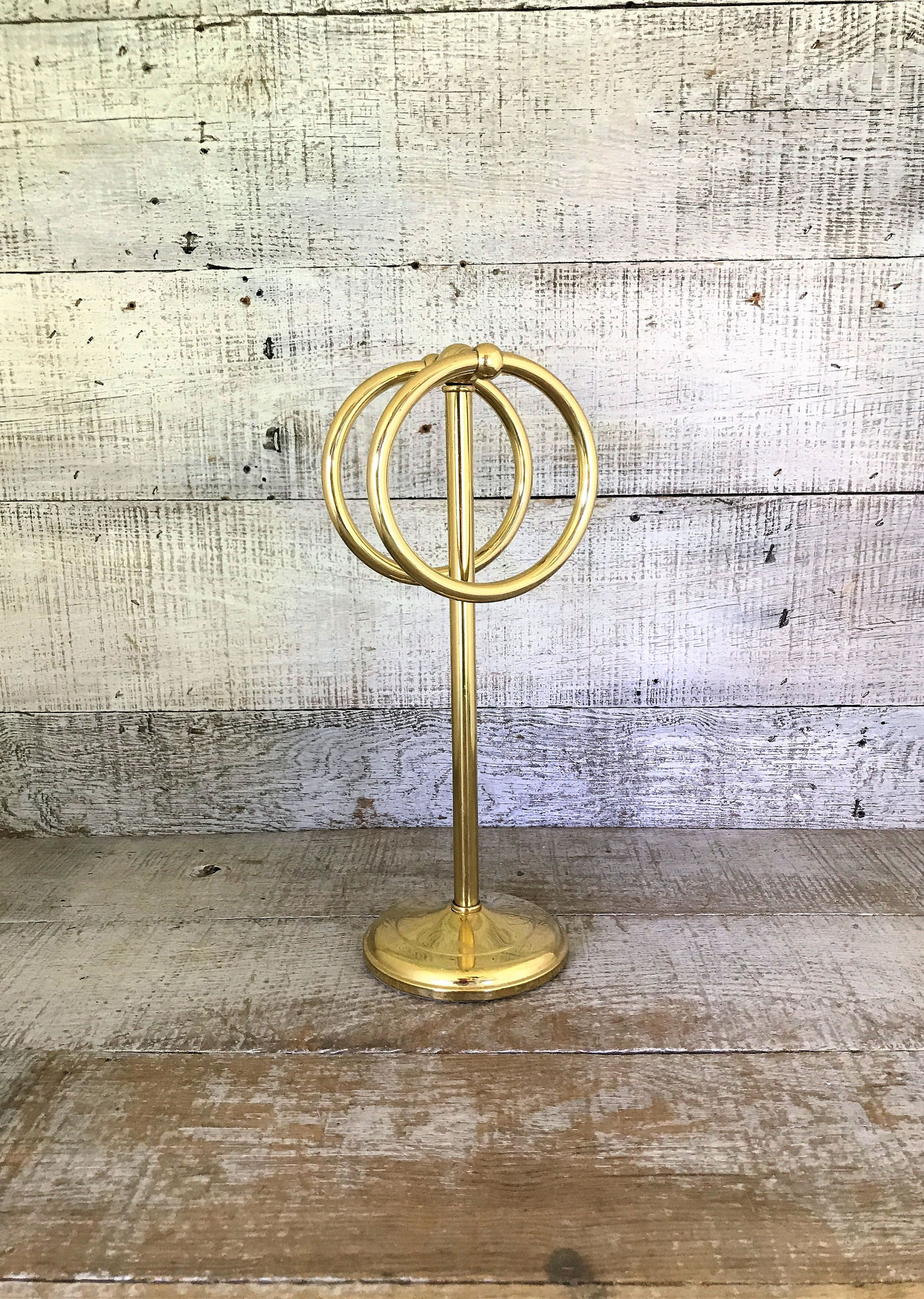 Towel Stand Towel Holder Brass Towel Stand Hand Towel Stand Gold Towel Ring Adjustable Dual Rings Mid Centu Hand Towel Stand Towel Holder Hand Towels