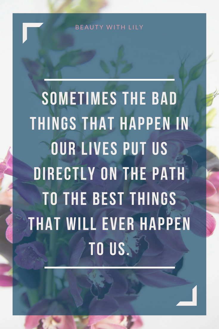 The Not So Good Days Beauty With Lily Bad Day Quotes Infertility Quotes Positive Living Quotes