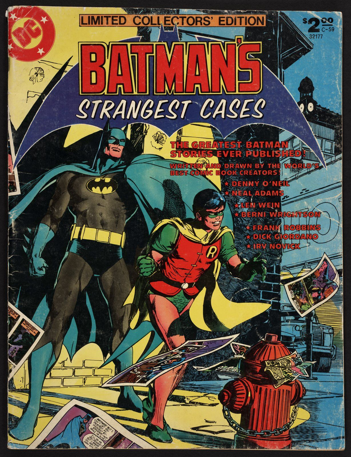 Treasury Edition, Tabloid-sized Comic Book.