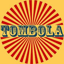 Tombola sign in word